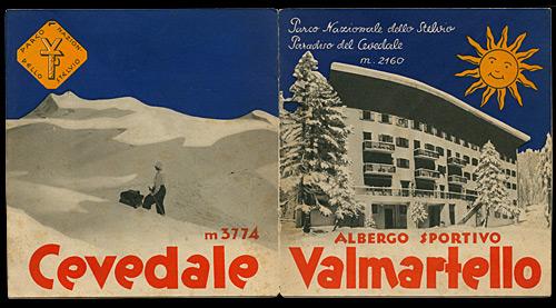 Prospekt Hotel Paradiso 1937 - Umschlagseiten